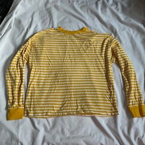 H&M | Yellow Stripped Pullover